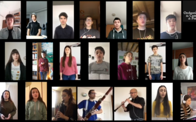 #iosuonodacasa - Coro di Voci Bianche del Conservatorio di Perugia e Orchestra da Camera di Perugia