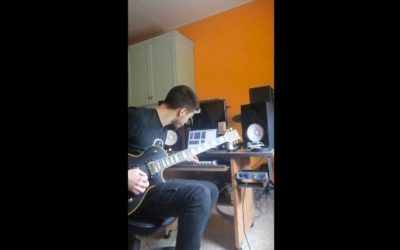 #iosuonodacasa - Andrea Assogna - Improvvisazione c