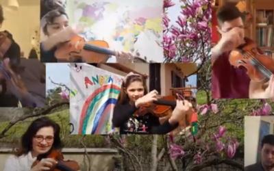 #iosuonodacasa - Classe di Violino