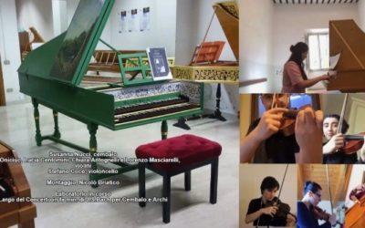 #iosuonodacasa - J. S. Bach - Largo dal Concerto in FA min. per cembalo e archi