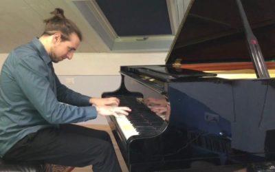 #iosuonodacasa - J. S. Bach - Toccata in mi minore BWV 914