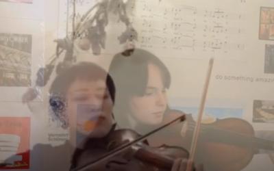 #iosuonodacasa - Prelude di D. D. Shostakovich da 5 brani per due violini e pianoforte