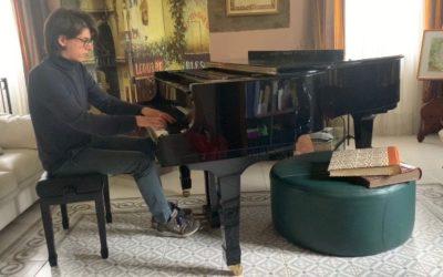 #iosuonodacasa - Ravel-Jeux d'eau|Sciarrino-Anamorfosi|Ravel Une barque sur l'océan (da Miroirs) - Nicolò Biccheri