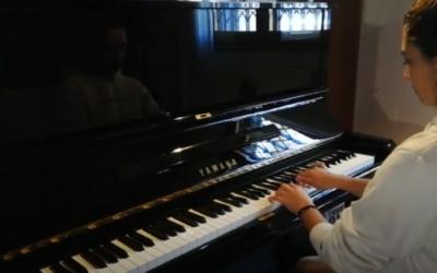 #iosuonodacasa - Wiktor Labunskj - 4 Variazioni su un tema di Paganini
