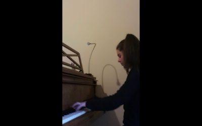 #iosuonodacasa - Frédéric Chopin - Fantasia Improvviso in Do diesis minore op.66 - Matilde Formentelli, pianoforte