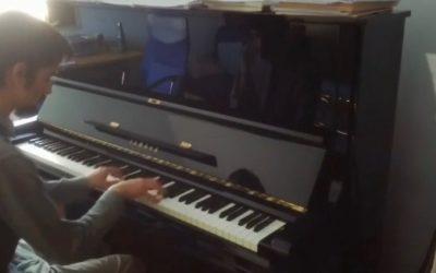#iosuonodacasa - Franz Joseph Haydn - Sonata Hob XVI 50 1° Movimento - Mattia Damiani pianoforte
