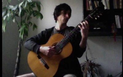 #iosuonodacasa - Johann Sebastian Bach - Ciaccona BWV 1004