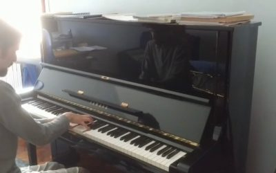 #iosuonodacasa - Mario Castelnuovo Tedesco - Stagioni Inverno, Primavera - Mattia Damiani pianoforte