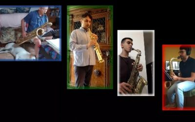 #iosuonodacasa - Pedro Iturralde - Dixie for saxes
