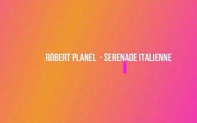 #iosuonodacasa - R. Planel, Serenade Italienne - Giulia Ambrosi, sax contralto - Prof.ssa Sara Ferrandino, pianoforte