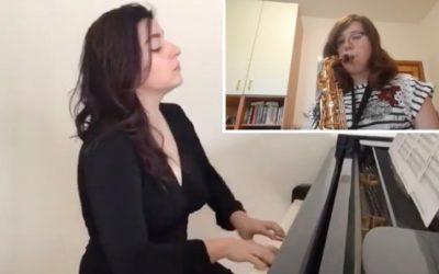 #iosuonodacasa - R. Planel, Valse Sentimentale - Giulia Ambrosi, sax contralto - Prof.ssa Sara Ferrandino, pianoforte