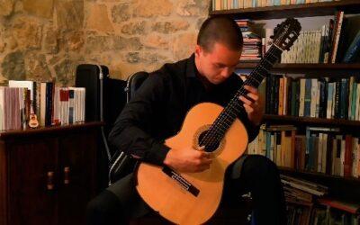 #iosuonodacasa - Agustin Barrios Mangoré - Tango n. 2